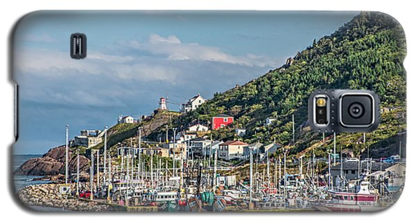 A Fishing Harbour In Newfoundland Canada Galaxy S5 Case