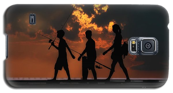 A Fishing We Will Go Galaxy S5 Case