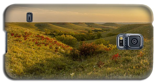 A Flint Hills View Galaxy S5 Case