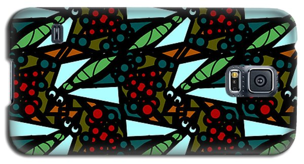 Galaxy S5 Case featuring the digital art A Fly Of Sorts And Berries by Elizabeth McTaggart