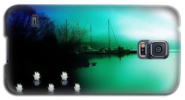 A Foggy Day At Log Boom Park On Lake Washington Galaxy S5 Case