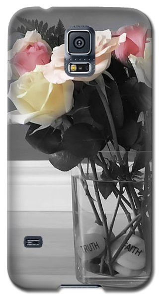 Galaxy S5 Case featuring the photograph A Foundation Of Love by Cathy  Beharriell