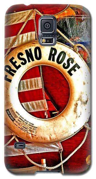 My Fresno Rose Galaxy S5 Case
