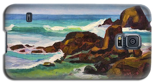 Galaxy S5 Case featuring the painting A Frouxeira Galicia by Pablo Avanzini