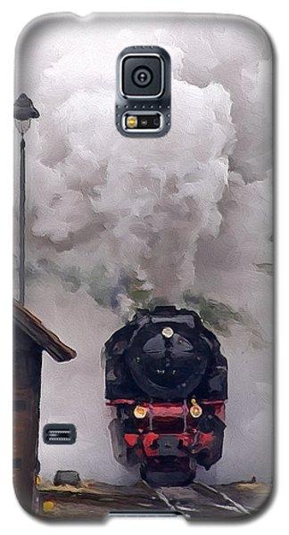 A Full Head Of Steam Galaxy S5 Case