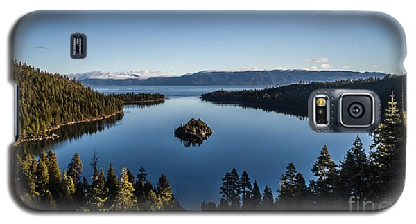 A Generic Photo Of Emerald Bay Galaxy S5 Case by Mitch Shindelbower