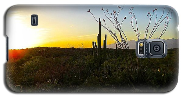 A Gentle End To The Day Galaxy S5 Case by Brenda Pressnall
