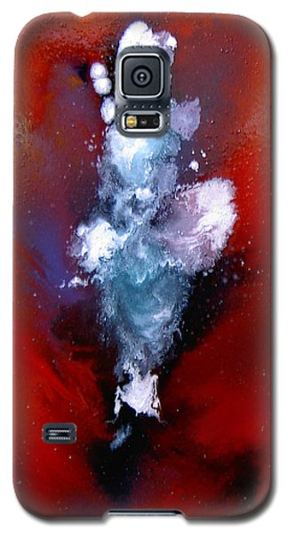 Galaxy S5 Case featuring the painting A  Girl At Sea by Min Zou