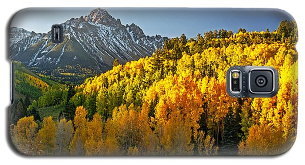 A Golden Fall Day In Colorado Galaxy S5 Case