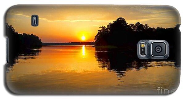 A Golden Moment Galaxy S5 Case