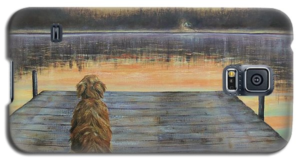 Galaxy S5 Case featuring the painting A Golden Moment by Susan DeLain