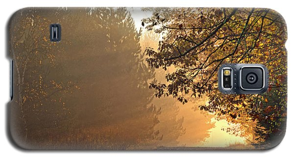 Galaxy S5 Case featuring the photograph A Golden Morning by Judy  Johnson