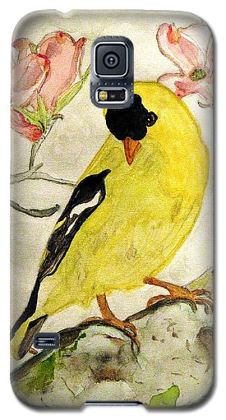 A Goldfinch Spring Galaxy S5 Case