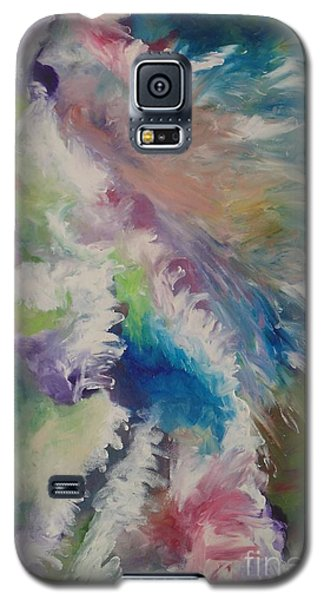 Galaxy S5 Case featuring the painting A Good And Perfect Gift by Nereida Rodriguez