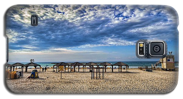 a good morning from Jerusalem beach  Galaxy S5 Case by Ron Shoshani