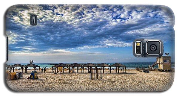 a good morning from Jerusalem beach  Galaxy S5 Case