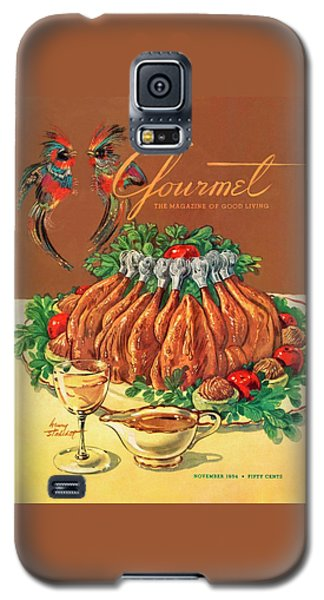 A Gourmet Cover Of Chicken Galaxy S5 Case by Henry Stahlhut