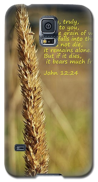 A Grain Of Wheat Galaxy S5 Case