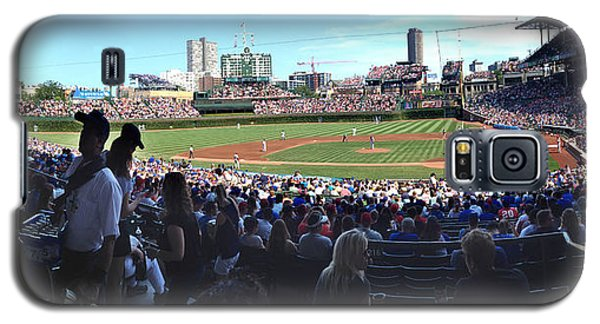 A Great Day At Wrigley Field Galaxy S5 Case by Rod Seel