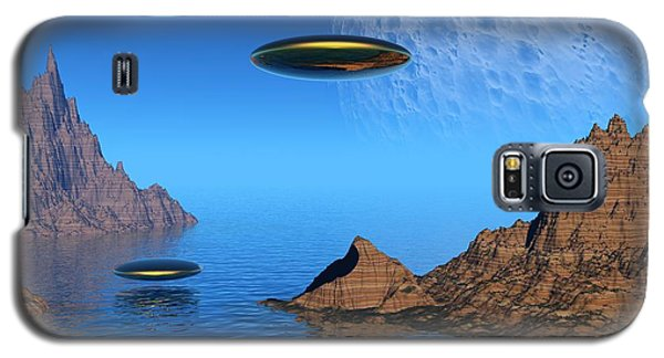 Galaxy S5 Case featuring the digital art A Great Day For Flying by Lyle Hatch