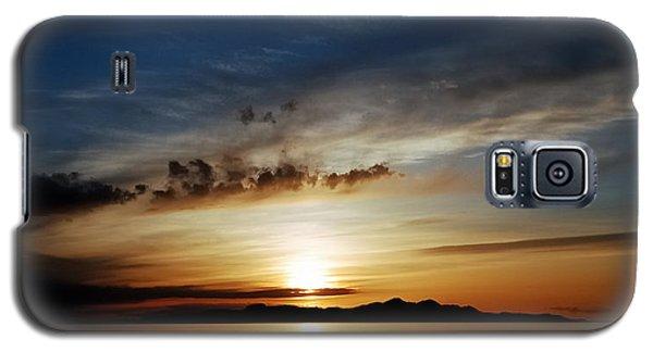 A Great Salt Lake Sunset Galaxy S5 Case
