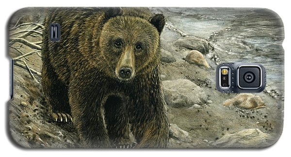A Grey And Grizzly Day Galaxy S5 Case by Sandra LaFaut