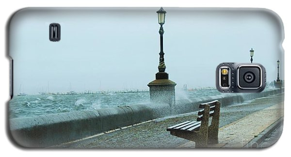 A Grey Wet Day By The Sea Galaxy S5 Case by Katy Mei