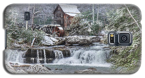 A Gristmill Christmas Galaxy S5 Case by Mary Almond
