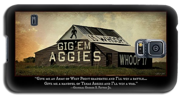 A Handful Of Aggies Galaxy S5 Case by Stephen Stookey