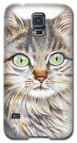 A Handsome Cat  Galaxy S5 Case by Jingfen Hwu