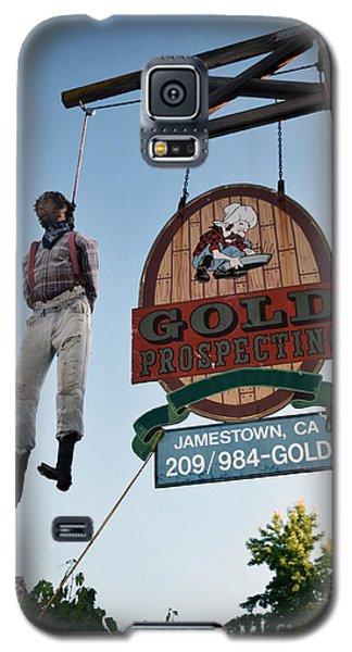A Hanged Man In Jamestown Galaxy S5 Case