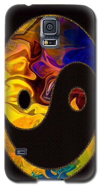 A Happy Balance Of Energies Abstract Healing Art Galaxy S5 Case