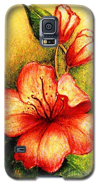 A Harbinger Of Springtime Galaxy S5 Case by Hazel Holland