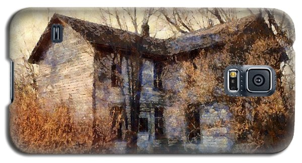A Haunting Melody - Old Farmhouse Galaxy S5 Case by Janine Riley