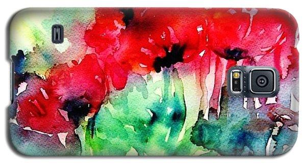 A Haze Of Poppies Galaxy S5 Case