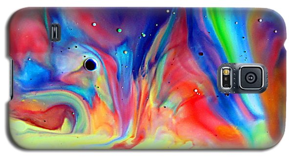 A Higher Frequency Galaxy S5 Case by Joyce Dickens