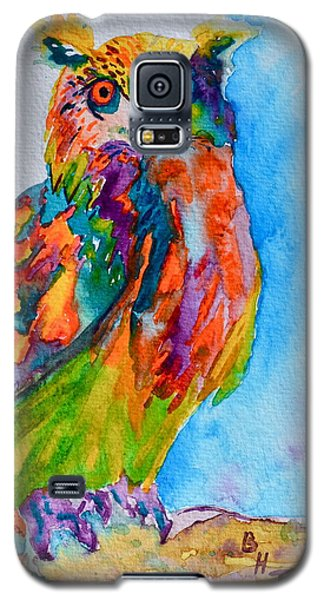 A Hootiful Moment In Time Galaxy S5 Case