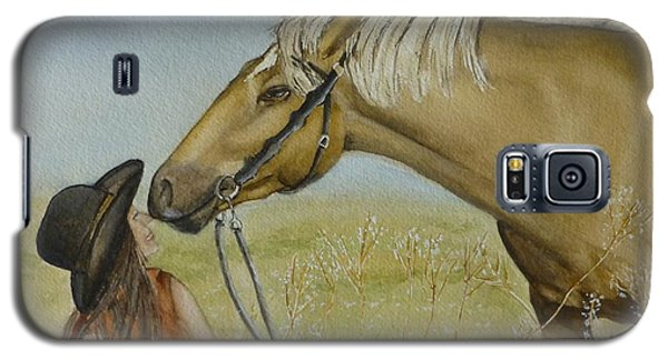 A Horses Gentle Touch Galaxy S5 Case