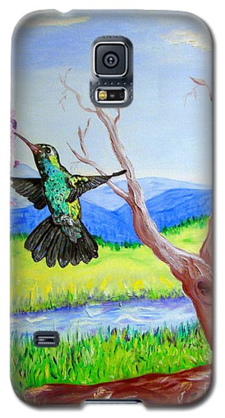 A Hummingbirds Day Galaxy S5 Case
