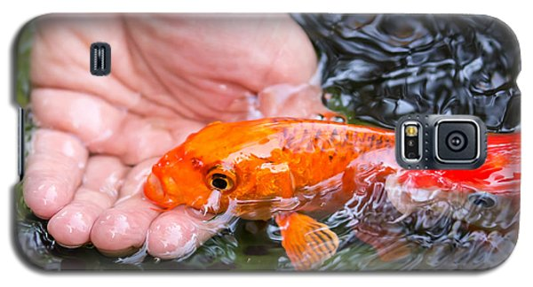 A Koi In The Hand Galaxy S5 Case