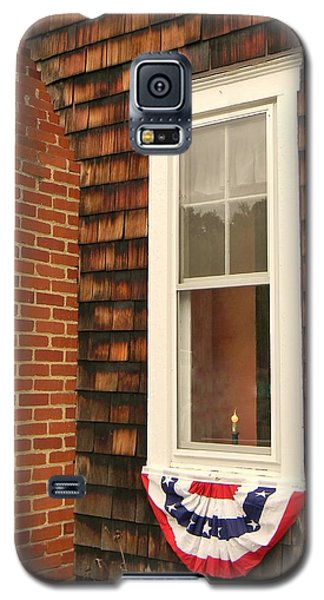 Galaxy S5 Case featuring the photograph A Light In The Window by Jean Goodwin Brooks