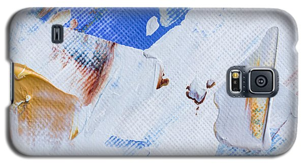 Galaxy S5 Case featuring the painting A Little Blue by Heidi Smith