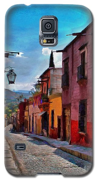 A Little Street In San Miguel Galaxy S5 Case