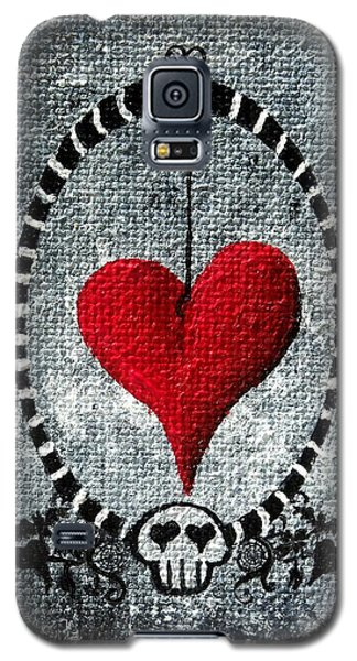 A Love Story 5 Galaxy S5 Case by Oddball Art Co by Lizzy Love