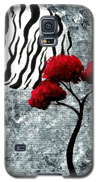 A Love Story No 23 Galaxy S5 Case by Oddball Art Co by Lizzy Love