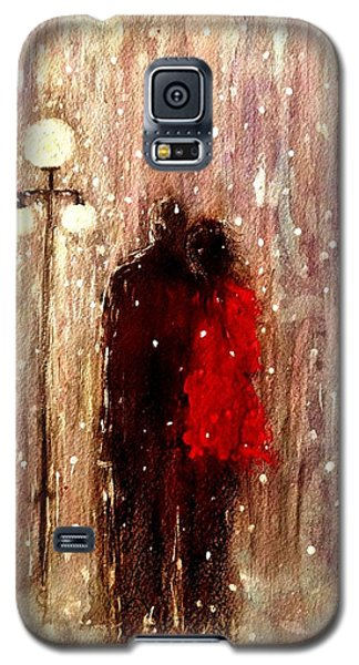 Me You And A Magical Winter Night.. Galaxy S5 Case