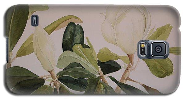 A Magnolia Duet Galaxy S5 Case by Nancy Kane Chapman