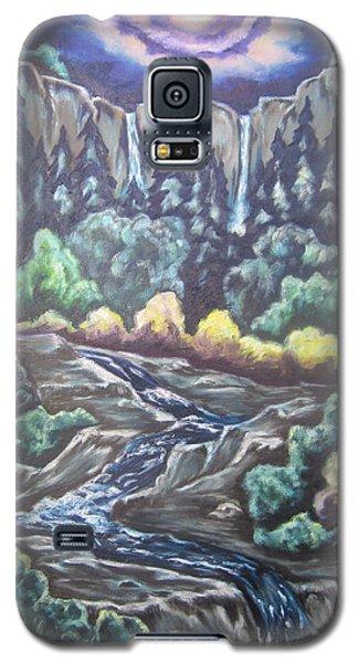 A Majestic World Galaxy S5 Case by Cheryl Pettigrew