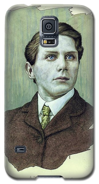 Galaxy S5 Case featuring the painting A Man Who Used To Be A Dreamer by James W Johnson