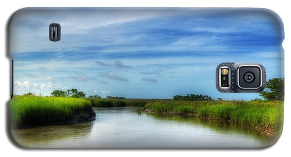 A Marsh At Jekyll Island Galaxy S5 Case